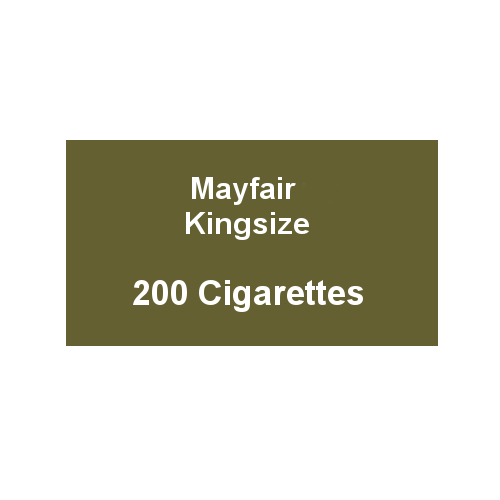 Mayfair Kingsize Green Cigarettes - 10 Packs of 20 - End of Line