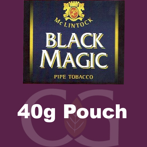 McLintock Black Magic Pipe Tobacco 040g Pouch