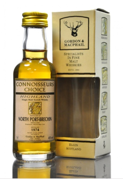 North Port Brechin 1974 Connoisseur Choice Whisky Miniature - 5cl 40%
