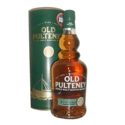 Old Pulteney 21 Year Old Single Malt Scotch Whisky - 70cl 46%