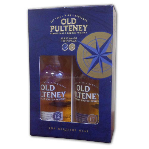 Old Pulteney Gift Pack 12 & 17 Year Old (2 x 35cl)