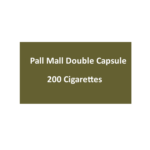 Pall Mall Double Capsule - 10 Packs of 20 Cigarettes (200)