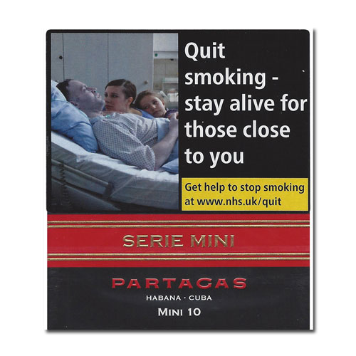 Partagas Serie Mini - Black Pack of 10