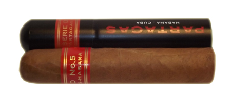 Partagas Serie D No. 5 Tubed Cigar - 1 Single