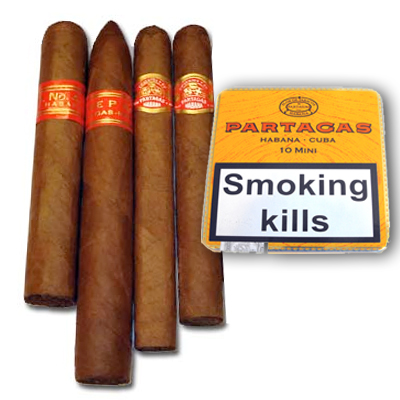 Partagas Cigar Sampler