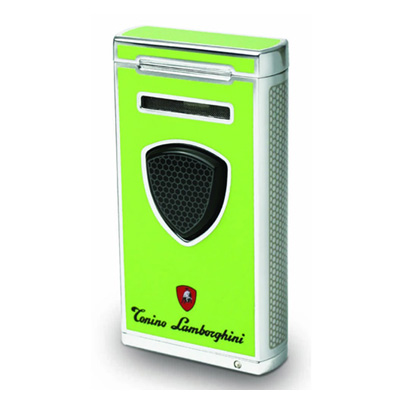 Lamborghini Pergusa Combi Flame Lighter - Green