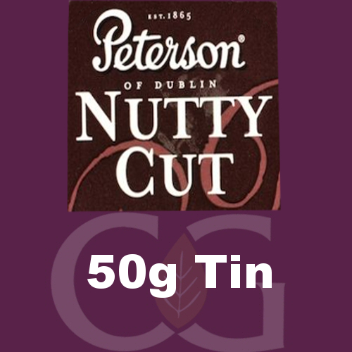 Peterson Nutty Cut Pipe Tobacco 050g Tin