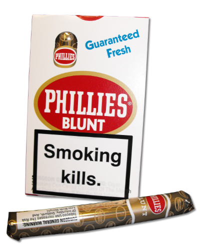 Phillies Blunts Cigar -  Pack of 5 cigars (discontinued)