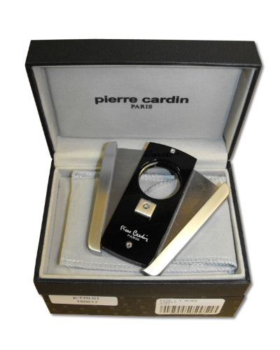 Pierre Cardin Cigar Cutter – Black Lacquer