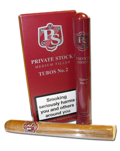 Private Stock Tubos No. 2 Cigar -  Pack of 3