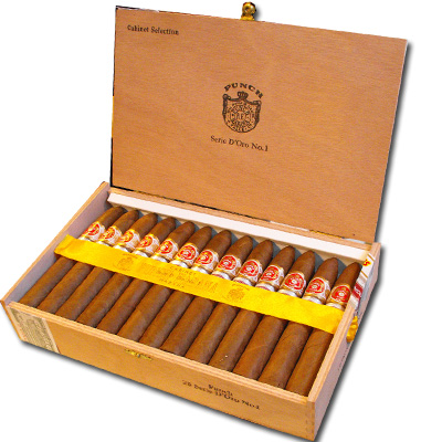 Punch Serie D'oro No. 1 cigar UK regional edition