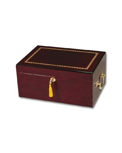 Enterprise Alhambra – Maple Humidor – 100 Cigar Capacity