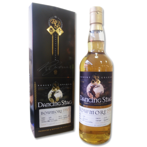 Bowmore 1990 - Award Winning 21 year old - Dancing Stag 70cl