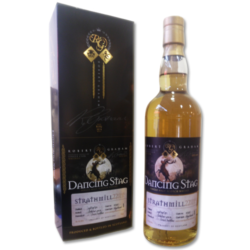 Strathmill 22 Year Old 1991-2013 Dancing Stag Whisky - 70cl 46%