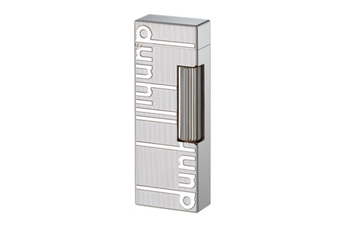 Dunhill - Signature Palladium Plated Rollagas Lighter