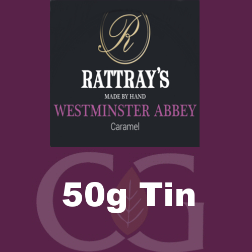 Rattrays Westminster Abbey Pipe Tobacco 50g Tin