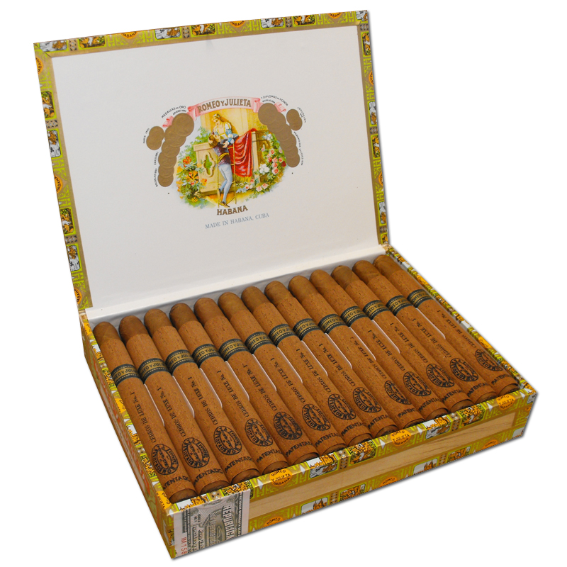 Romeo y Julieta Cedros de Luxe No. 1 Cigar - Box of 25