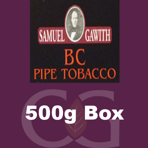 Samuel Gawith B.C. Cavendish Pipe Tobacco 500g Box