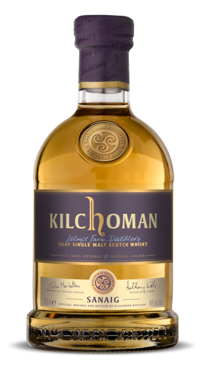 Kilchoman Sanaig Islay Single Malt Scotch Whisky - 70cl 46%