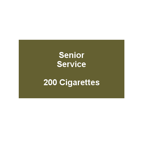 Senior Service - 10 Packs of 20 cigarettes (200)