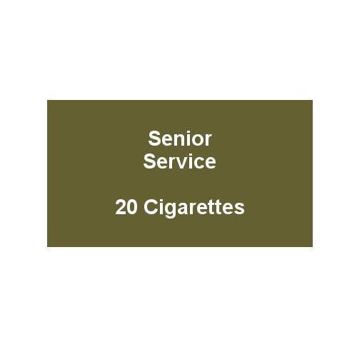 Senior Service - 1 Pack of 20 cigarettes (20)