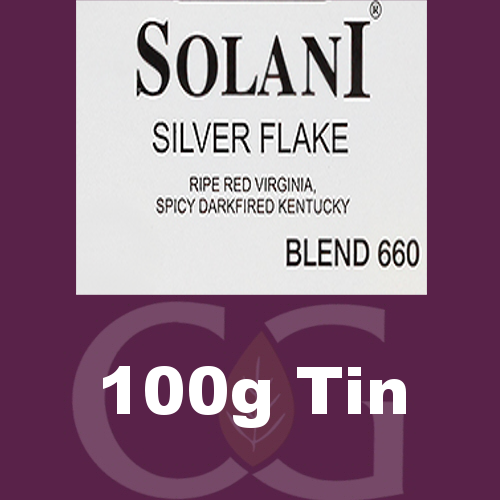 Solani Pipe Tobacco 660 Silver Flake - 100g tin
