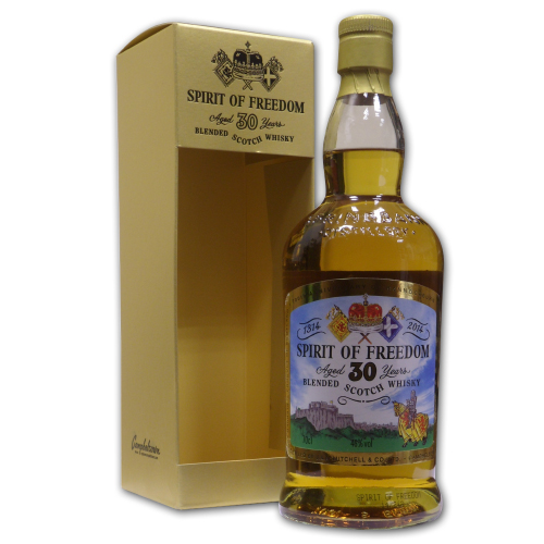 Spirit of Freedom 30 Year Old Whisky - 70cl 46%