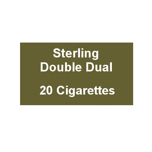 Sterling Double Dual - 1 Pack of 20 Cigarettes (20)