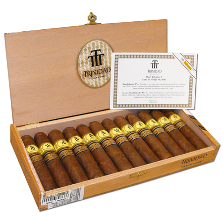 Trinidad Short Robusto T Limited Edition Cuban Cigar