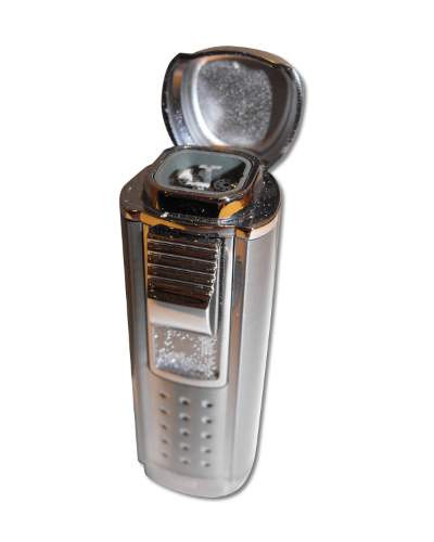 Winjet Quatro Torch Cigar Lighter – Chrome