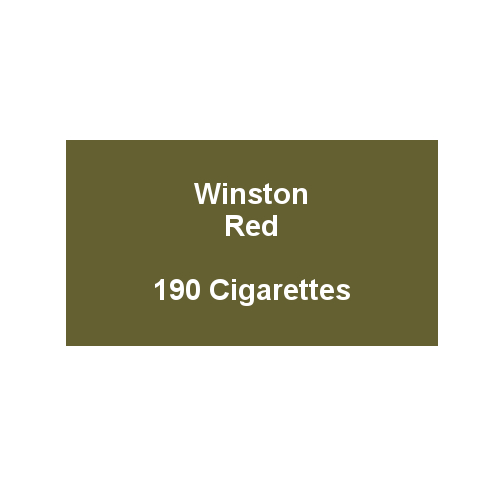 Winston Red - 10 Packs of 20 Cigarettes (200)