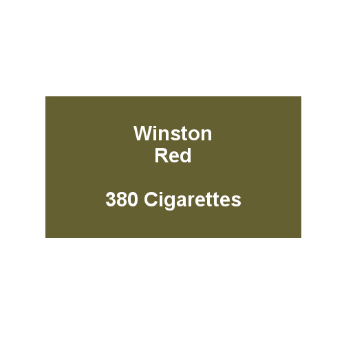 Winston Red - 20 Packs of 20 Cigarettes (400)