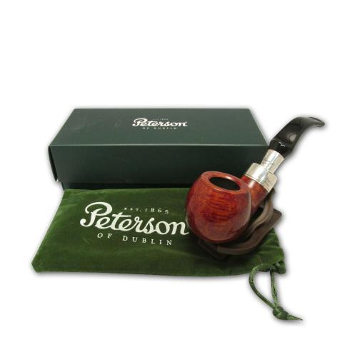 Peterson Spigot Walnut Pipe - XL02 (Fishtail)