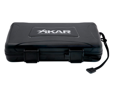 Xikar Travel Waterproof Case Humidor Black - 5 cigars capacity