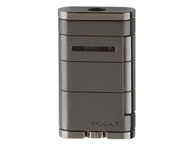 Xikar Allume Single Jet Lighter - Gunmetal (G2)