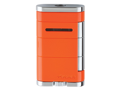 Xikar Allume Single Jet Lighter - Orange