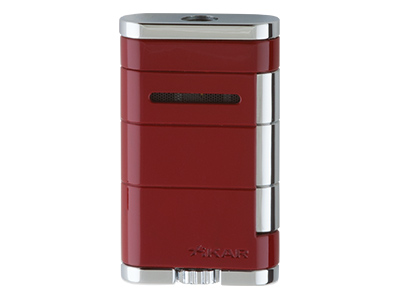 Xikar Allume Single Jet Lighter - Red