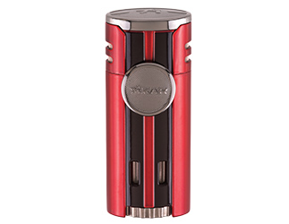 Xikar HP4 Quad Jet Cigar Lighter - Red