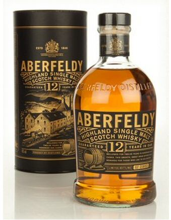 Aberfeldy 12 Year Old Single Malt Scotch Whisky - 70cl 40%