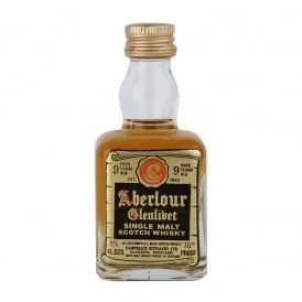 Aberlour Glenlivet 9 Year Old Single Malt Scotch Whisky Miniature - 5cl 35%