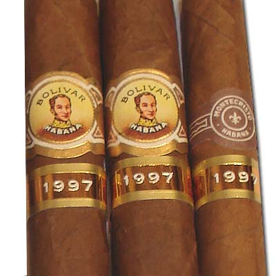 Aged cuban cigars