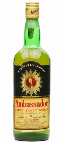 Ambassador Blend Taylor & Ferguson Ltd Deluxe Scotch Whisky - 75cl 40%