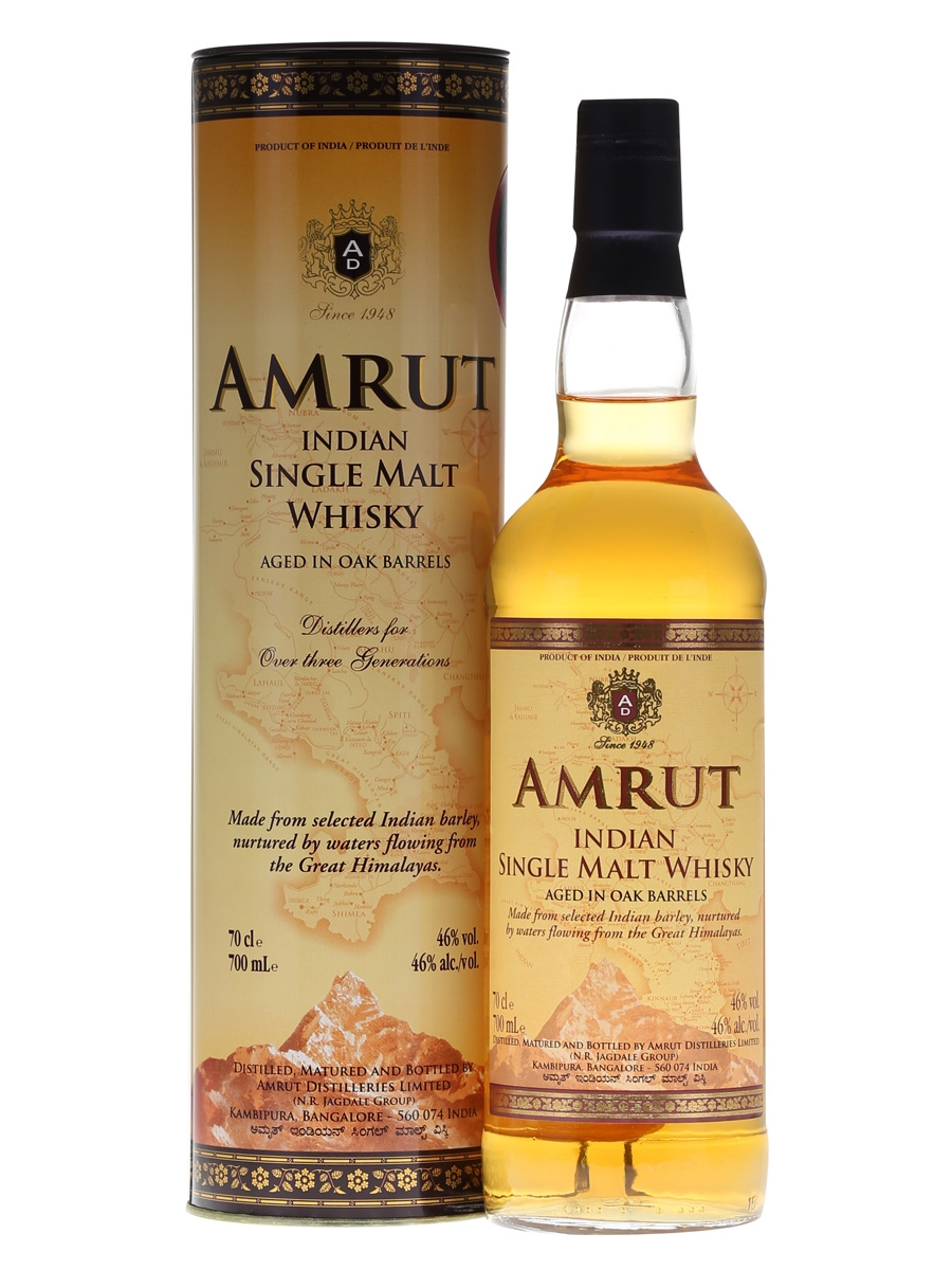 Amrut Indian Single Malt 70cl 46