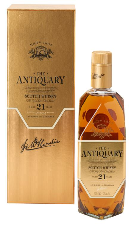 Antiquary 21 Year Old Blended Scotch Whisky - 70cl 43%