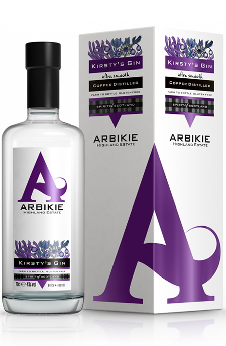 Arbikie Estates Kirstys Gin - 70cl 43%