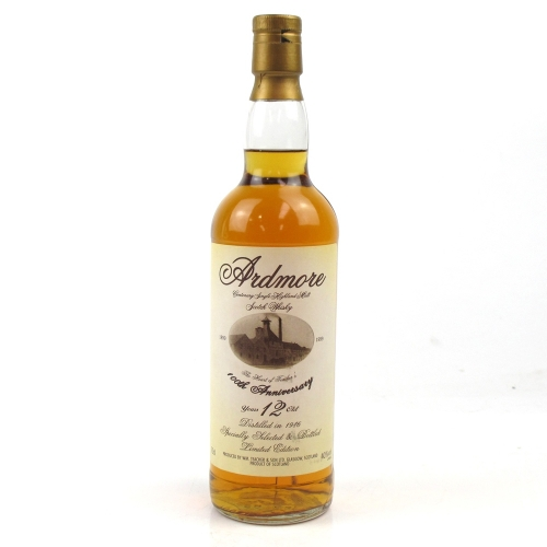 Ardmore 12 Year Old 1989 100th Anniversary Single Malt Scotch Whisky - 70cl 40%