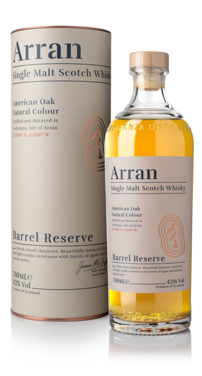 Arran Barrel Reserve - 43% 70cl