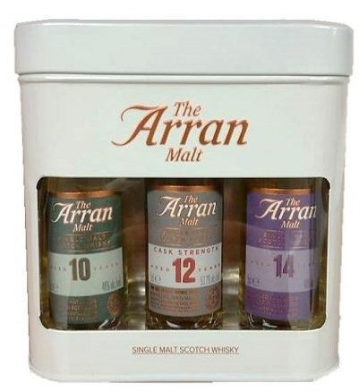 Arran Malt Triple Gift Tin 3 x 5cl