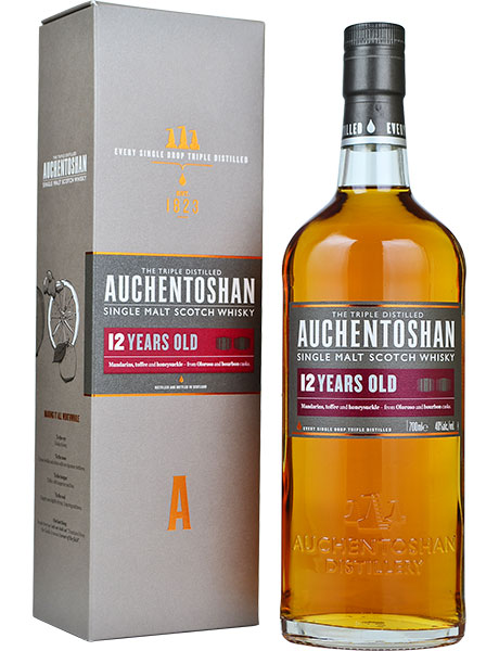 Auchentoshan 12 year old Old Packaging - 40% 70cl