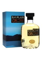 Balblair 2005 Single Malt Scotch Whisky Miniature - 5cl 46%
